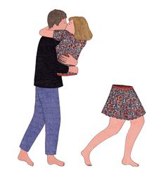 In Pieces: French Illustrator Marion Fayolle's Wordless Narratives About Human Relationships