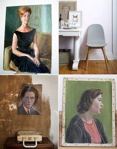 #vintage-#paintings-#portraits
