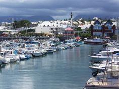 Port de Saint Pierre ile de la réunion -