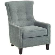 Chantelle Heather Cornflower Blue Accent Chair
