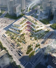 FR-EEs competition-winning hyperloop proposal to revitalize transportation in mexico Landscape Architecture Design, Green Architecture, Concept Architecture, Futuristic Architecture, Ancient Architecture, Amazing Architecture, Plaza Design, Mall Design, Urban Planning