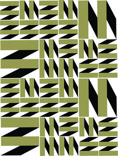Pantographic (art printing or tiles), 2015 Ligia de Medeiros