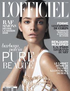 Barbara Palvin Graces L'Officiel Paris May 2013 Cover in Dolce & Gabbana | Fashion Gone Rogue: The Latest in Editorials and Campaigns