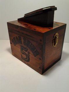 Shoe Shine Box 5 Cent Shoe Shine Box  with Brushes by BoardwalkRev