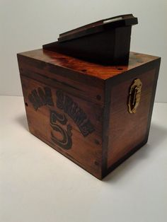 Shoe Shine Box 5 Cent Shoe Shine Box  with Brushes by BoardwalkRev