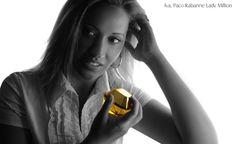 Paco Rabanne Lady Million parfémovaná voda pro ženy Paco Rabanne Lady Million, Jasmine, Amber, Beauty Hacks, Perfume, Makeup, Make Up, Beauty Tricks, Beauty Makeup