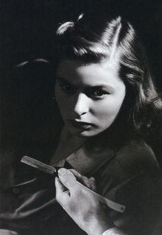 Ingrid Bergman in a publicity still for Spellbound (1945)