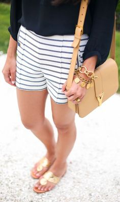 Jack Rogers Gold Oriental Inspired Thong Sandals by With Love From Kat