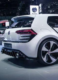 Volkswagen GTI vision concept | I have a soft spot for volkswagens, to do no wrong! classy but edgy!