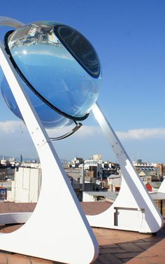 This Spherical Solar Power Device Looks Like Nothing You've Seen Before