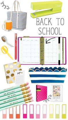 Back To School Must-Haves