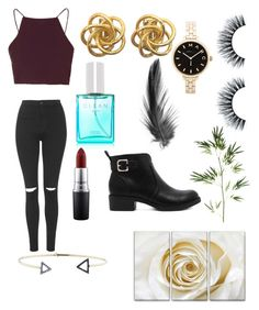 """""""Untitled #14"""" by simone-xxii ❤ liked on Polyvore featuring Topshop, CLEAN, Marc by Marc Jacobs, MAC Cosmetics, Jemma Wynne, Pier 1 Imports, women's clothing, women, female and woman"""