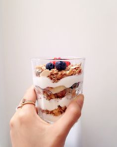 Toasted granola with berrylicious
