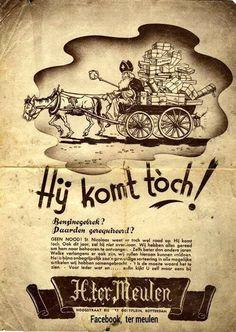 Advertentie in de krant uit 1939