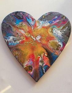 Enamórate de nuestros efectos decorativos. #pintoconinmacelis #pintar #efecto #pintura Valentines