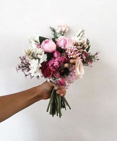 Pink Peonies And A Classic White Summer Dress - My Style Vit.- Pink Peonies And A Classic White Summer Dress – My Style Vita Bouquet - My Flower, Flower Power, Beautiful Flowers, Beautiful Beautiful, Hey Gorgeous, Flower Mandala, Wedding Bouquets, Wedding Flowers, Bloom
