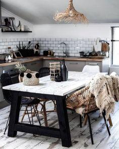 Beautiful kitchen inspired interior design. #kitchen #interiordesign #home #homeinspo #kitchenideas #moderninterior #modern