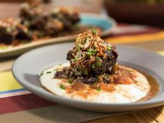 """Red Wine-Braised Short Ribs (Most-Searched Comforting Classics) - Geoffrey Zakarian, """"The Kitchen"""" on the Food Network."""