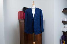 Denim Cotton Wedding Jacket — De Oost Bespoke Tailoring