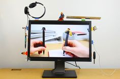 DIY Tech Ideas: LEGO and sugru desk organization on Cool Mom Tech