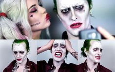 The Joker Suicide Squad ft. Harley Quinn - Makeup Tutorial