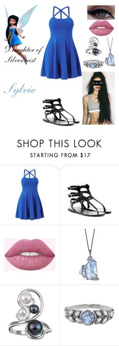 """Sylvie: Daughter of Silvermist (NEW)"" by queenreigns-916 ❤ liked on Polyvore featuring Disney, Ancient Greek Sandals, Kabella Jewelry and Cathy Waterman"