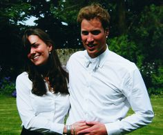 : A young Kate Middleton and Prince William were photographed together at St. Andrews in June 2005.