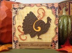 Happy Thanksgiving (using Celebrate with Flourish and Elegant Edges) - Mollie