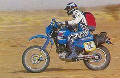 YAMAHA Rallye Star Serge Bacou 1983