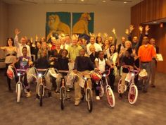 Members of the Law Firm, Robins, Kaplan, Miller and Ciresi LLP, came together for an afternoon of fun and philanthropic team building. 30 people built 8 bikes during an afternoon of fun, laughter and even a little bit of instruction. Everyone enjoyed the activities that culminated in 8 bicycles...