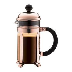 Bodum - Chambord Copper Original Coffee Plunger 3 Cup