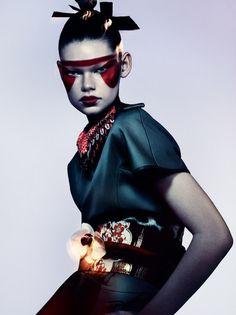 Benjamin Lennox photographs Fashion 2 for Flair, Spring/Summer 2013