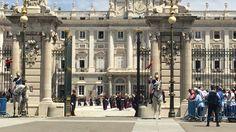Guardia Real de España.  Cambio de Guardia 06-07-2916