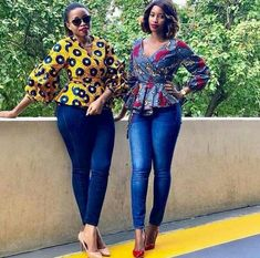 Collection of the most beautiful and stylish ankara peplum tops of 2018 every lady must have. See these latest stylish ankara peplum tops that'll make you stun African Fashion Designers, Latest African Fashion Dresses, African Print Dresses, African Print Fashion, Africa Fashion, African Dress, Ankara Fashion, African Blouses, African Tops