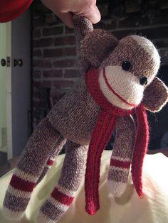 Sock monkey. ... I like this pattern