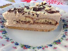 Cheesecake biscottata al cacao
