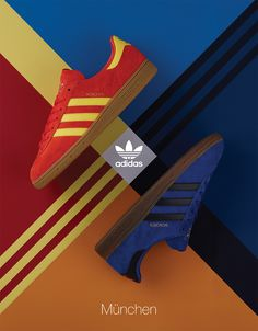 size  Styles the adidas Originals München in Stretford   Athens Colorways e56220596cb70