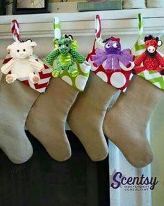 Fantastic Christmas idea using Scentsy Buddy Clips!