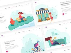 Hair salon website design by @divan_raj illustration by @realvjy ••••••••••••••••••••••••••••••••••••••••••••••••••••••••••• #ui #ux #uiux#userexperience #userinterface#graphicdesign #designer #inspiration#productdesign #designinspiration#designthinking #ixd #interactiondesign#designpattern #designdaily #webdesign#instadesign #designinspiration #designtrends #branding #prototype #flow #appdesign #blogger #uxblogger #uxinfluencer