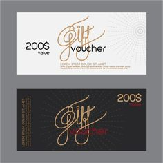 Vector set of gift voucher design elements 05 Free Vector Files, Vector Free, Certificate Layout, Gift Voucher Design, Ticket Design, Photoshop Projects, Clinic Design, Good Essay, Cover Letter Sample