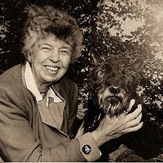 Ms. Eleanor Roosevelt - another one of our most favorite inspirational women; She played an important part in creating The Universal Declaration of Human Rights, not to mention while being a First Lady!