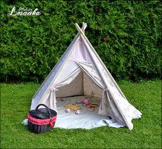 Ateliér Lesanka: ♥ Indiánske teepee pre deti ♥