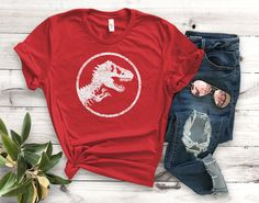 2aafe0f70 Jurassic Park 25th Anniversary Unisex T-Shirt Unisex by Artistshot | Etsy  Fan Shirts,