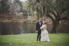 Water always makes a great backdrop for any style of wedding.