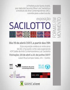"""Abertura da exposição """"Sacilotto - Formas em Movimento"""" dia 19 de abril 2017 na Casa do Olhar em Santo André. #iac #sp #exposição #santoandre #muba #belasartes #gratis #casadoolhar #sacilotto"""