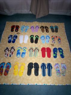 flip flops and frogs - Quilt With Us
