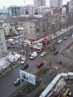 Приступ эпилепсии у водителя маршрутки стал причной серьезного ДТП в Барнауле