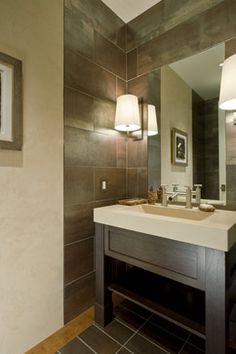 Residential Project Monterey, California - contemporary - powder room - san francisco - Randall Whitehead Lighting Solutions