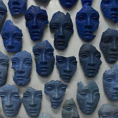 """ colin-vian: "" Lionel Smit peintre , sculpteur Sud Africain contemporain "" THE MANY-FACED "" In Loco, Everything Is Blue, Art Africain, Blue Aesthetic, Land Art, The Last Airbender, Jojo's Bizarre Adventure, Ravenclaw, Oeuvre D'art"