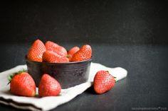 Local strawberries in season... SO GOOD
